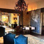 Wanddecoratie in hotel Castell d'Emporda